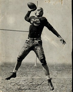 Sammy Baugh 1940s Spalding Football Premium Photo