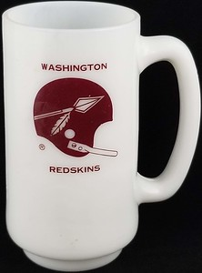 Redskins 1960s Tall Mug