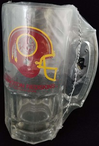 Redskins 1990 Slim Jim Mug