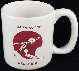 Redskins Chase & Sanborn Coffee Mug 1960s