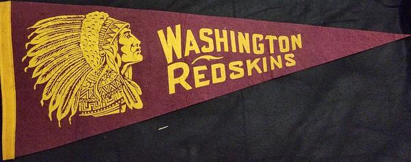 1950s Tilde Redskins Pennant