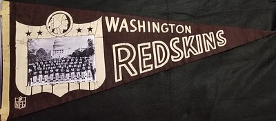 1968 Redskins Team Photo Pennant