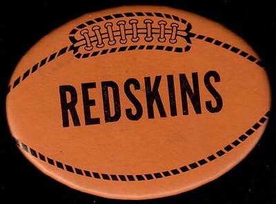1970s Redskins Football Pin