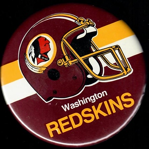 1983 Redskins Helmet Logo Pin