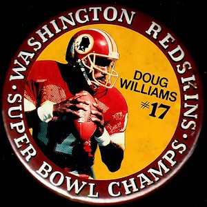 1988 Doug Williams Super Bowl XXII Champions Pin