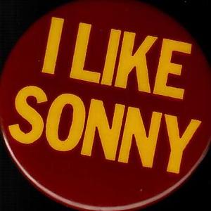 """1970s """"I Like Sonny"""" Pin"""