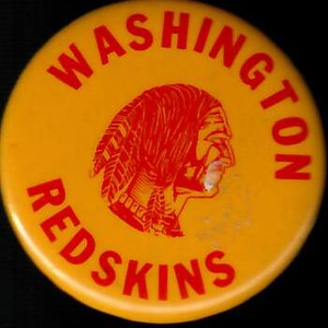1950s Redskins Pin