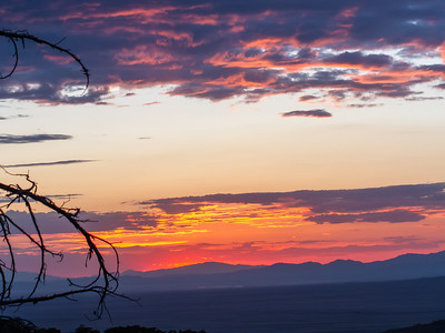 Chiri Sunset - Sunset at Chiricahua NM