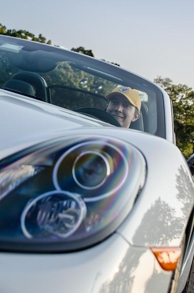 Brian at the Wheel