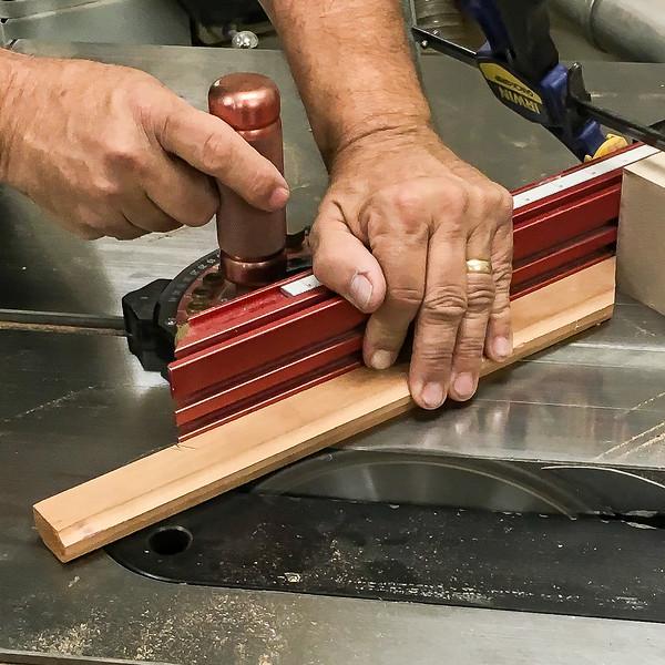 Cutting Second Miter