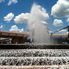Fountain at Epcot Center