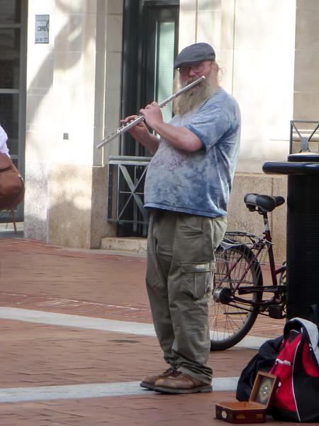 Street Flutist, UVa