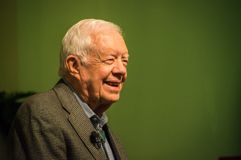 President Carter Teaching Sunday School