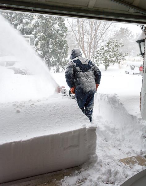 Joe Attacking #Snowzilla