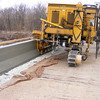 The Bridge Rail as it Comes Out the Back of the Slipform.