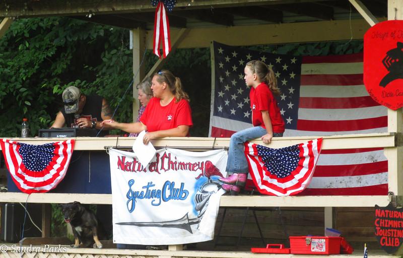 195th Jousting Tournament, Natural Chimneys