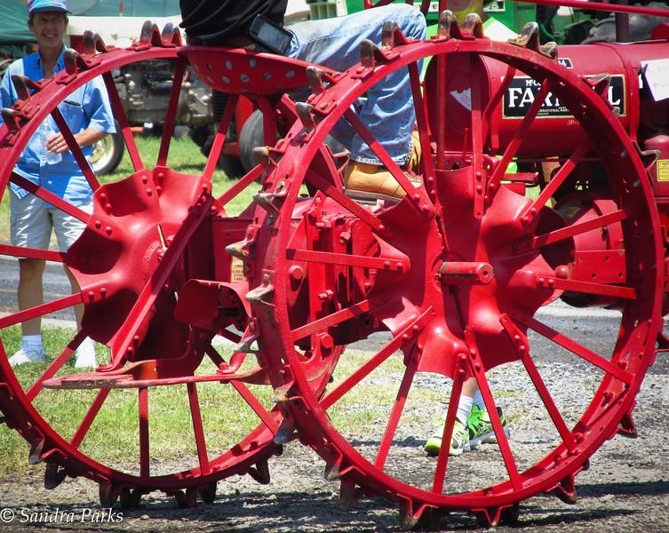 7-16-15: Tractor wheels