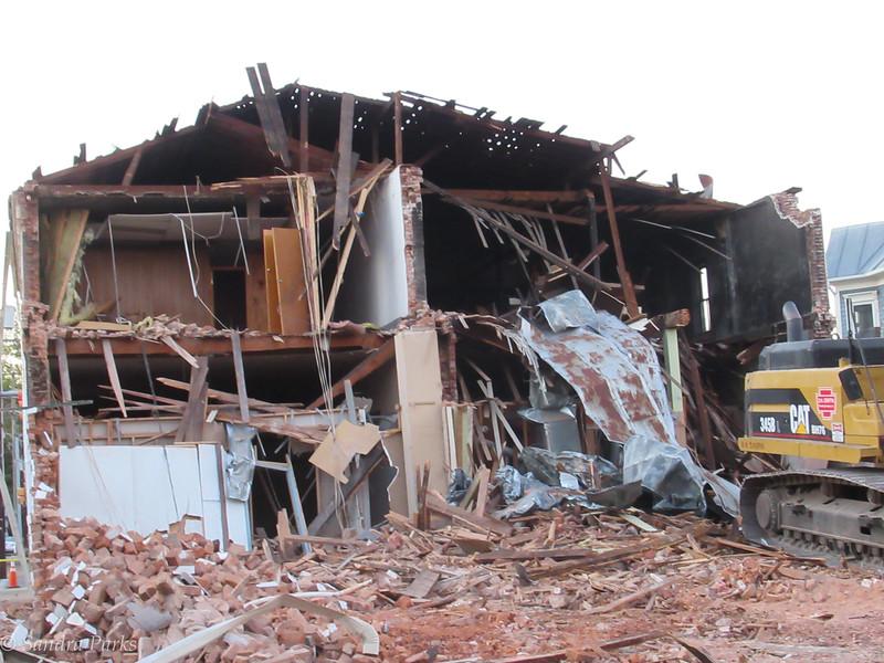 10-17-17: Sipe's Sote Demolition