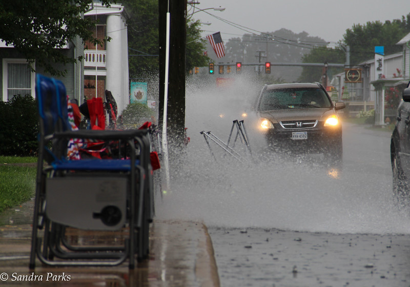 7-16-16: Flooding on the parade route