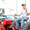 Random guy on tractor
