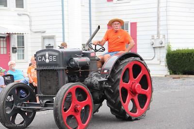 Antique Car and Tractor parade