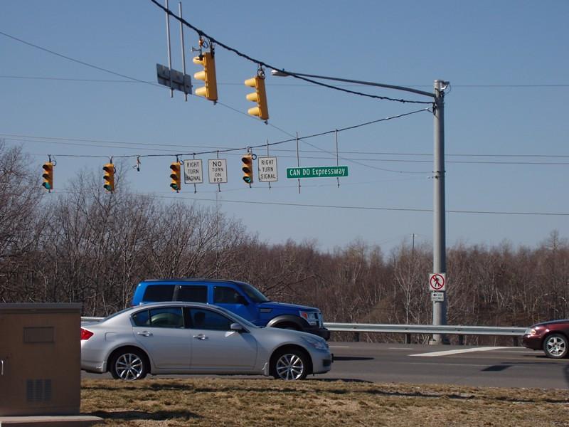 Can Do Expressway near Hazleton, PA<br /> Photo thanks to Dave Scrogham