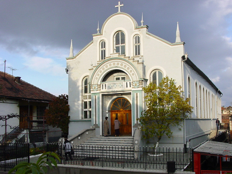 Baptist Church, Medias, Romania