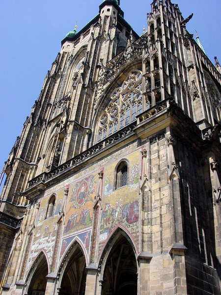 St Vitus Cathedral, Hradcany Castle, Prague, Czech Republic