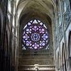 Interior of St. Vitus, Prague, Czech Republic
