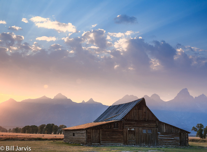 Sunset, Jackson Hole, Wyoming