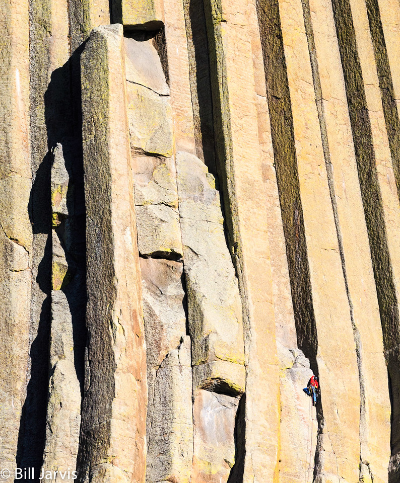 Rock Climbing @ Devils Tower