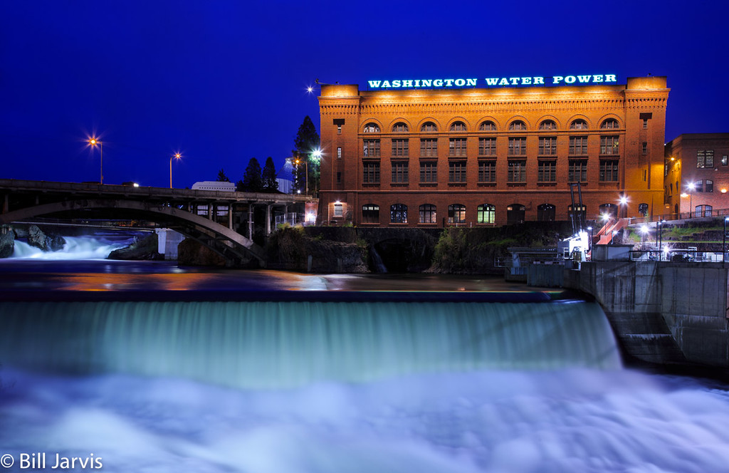 Upper & Lower Falls, Spokane, WA