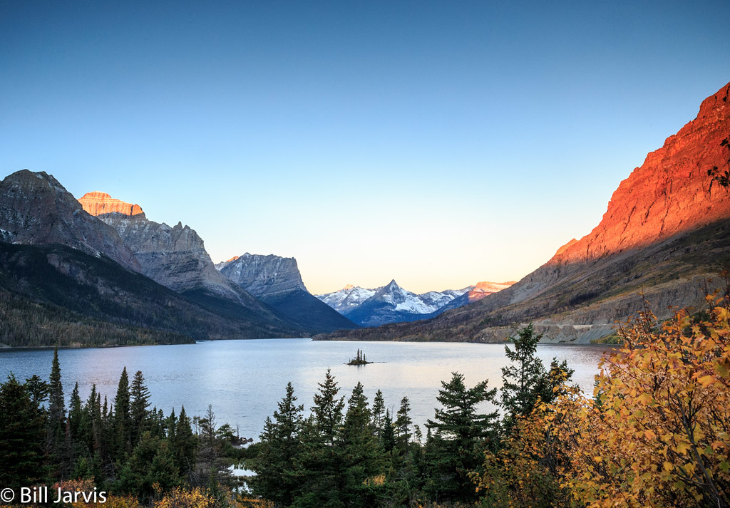 Morning @ Saint Mary's Lake, Glacier NP
