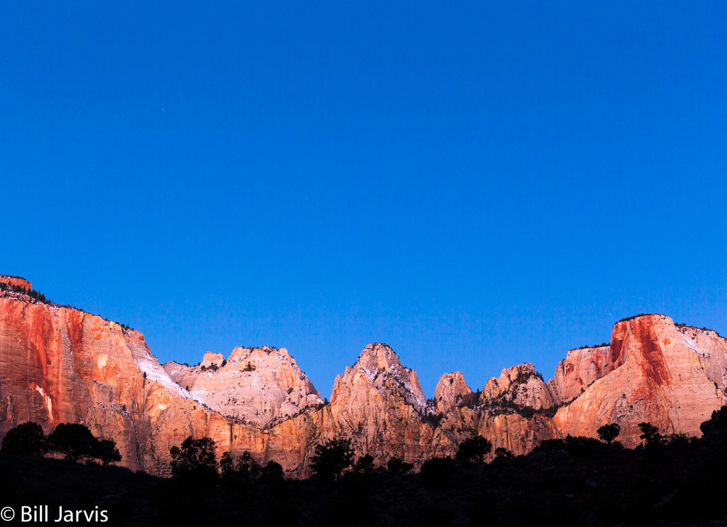 First Light, Tower of the Virgins, Zion NP