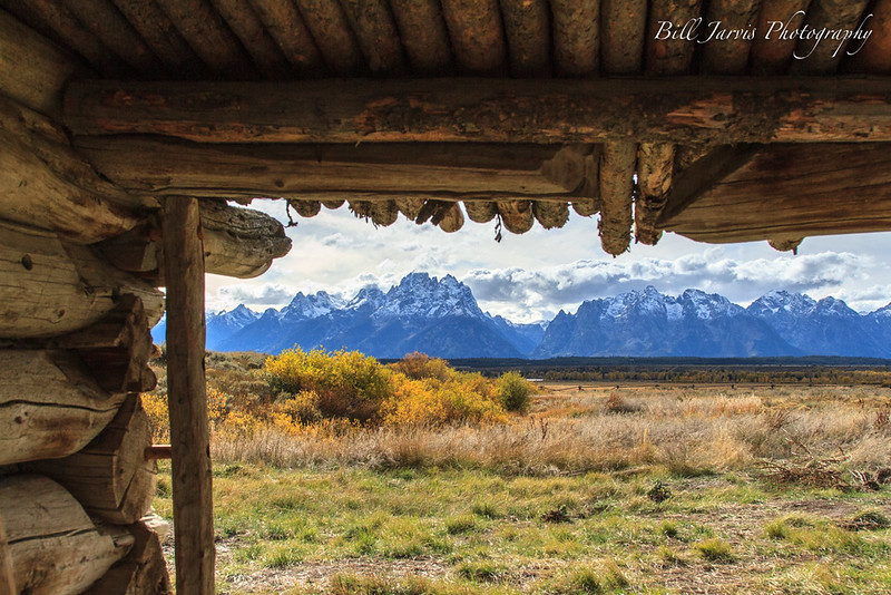 Cunningham Ranch With The Tetons, Wyoming