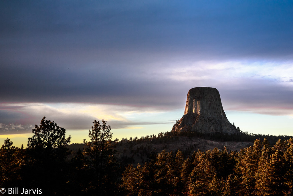 Sunset, Devils Tower, Wyoming