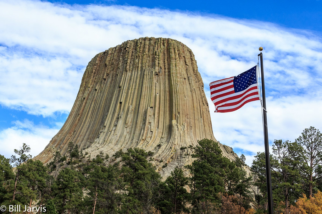 Old Glory @ Devils Tower
