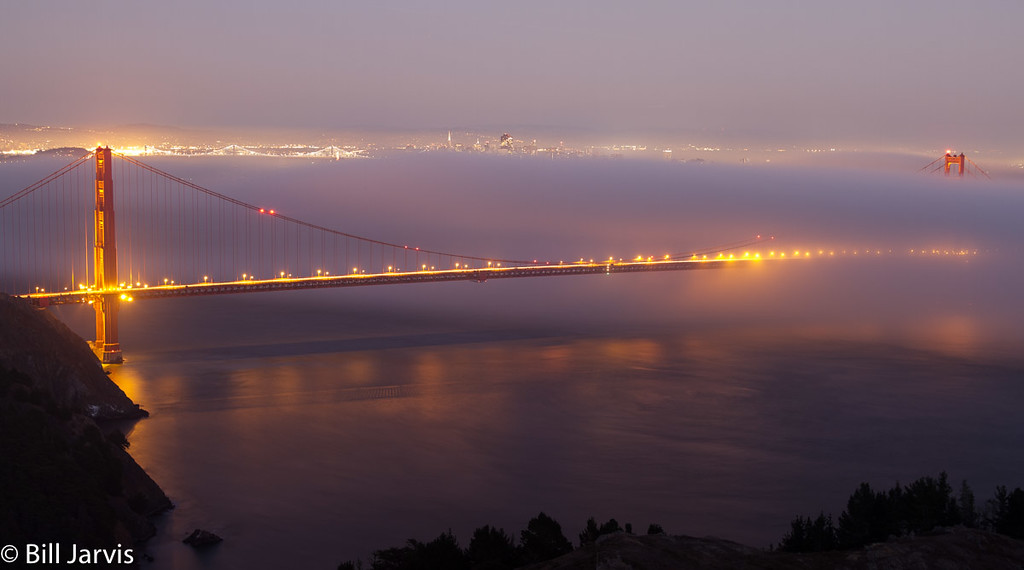 San Francisco Fog, Marin Headlands