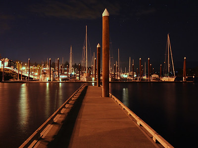 St Helens Marina at Night (77088296)