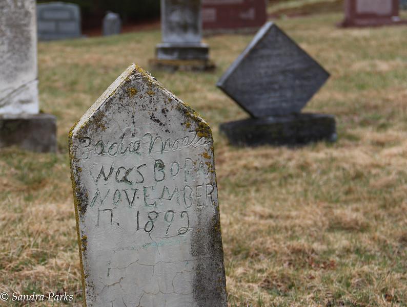 Graveyard, somewhere in Highland COunty