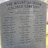 Mt. Jackson Colored Cemetery