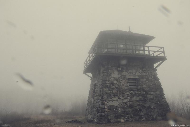 High Knob Fire Tower