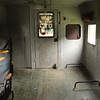 In the old caboose, Glen Maury Park