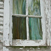8-17-14: Stained glass window, old church in Spring Creek