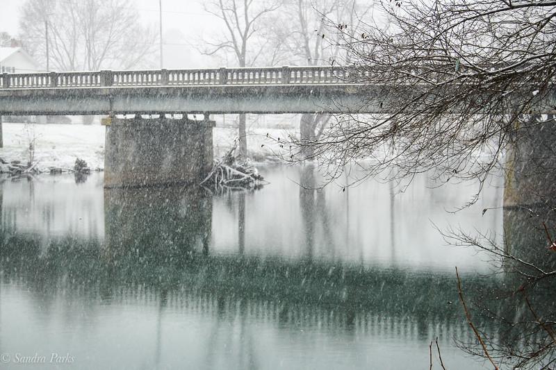 12-9-18: December Snow, Bridgewater VA