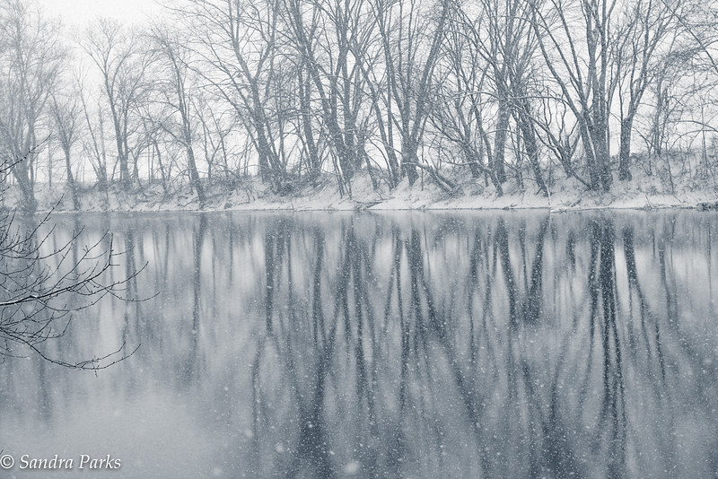 1-22-16: North River reflections