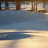 1-24-16: Snow shadows and contours
