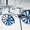 1-22-16: bicycle , and snow