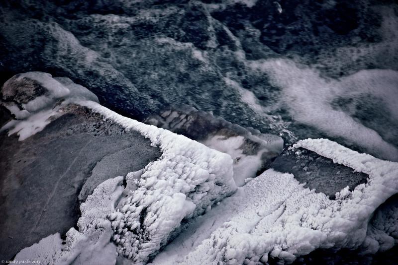 Ice, North RIver
