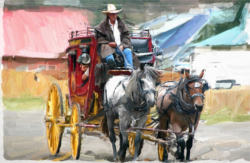 Stagecoach, Silverton, Colorado